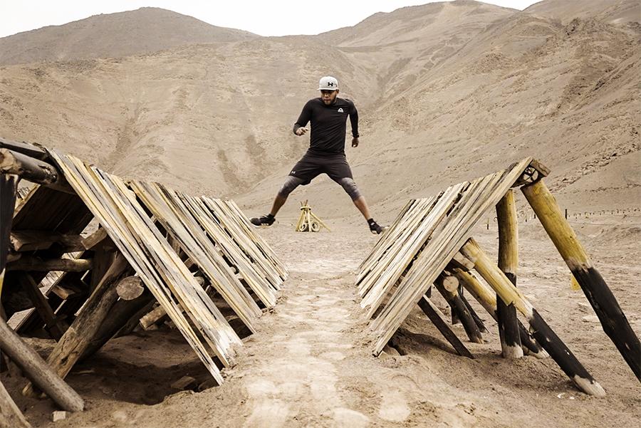 Pista de obstáculos. Perú Race 5k Extreme.