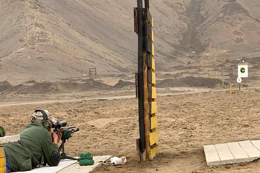 Campos para entrenamiento con armas de fuego de defensa personal y deportivo.
