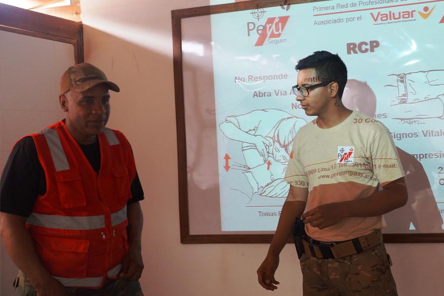 Programas de capacitación y formación de seguridad.